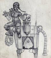 Steam Girl by Emperor-Monkey