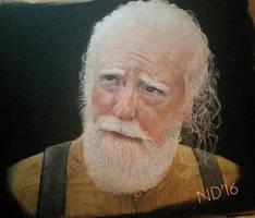 Hershel - The Walking Dead by NoraJacksonArt