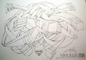 Graffiti Sketch by Chaos-Fox