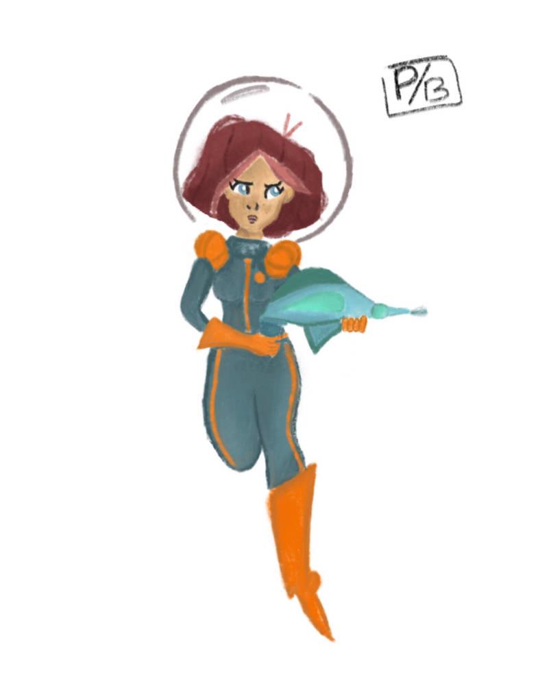 Astronaut  by Paupau64