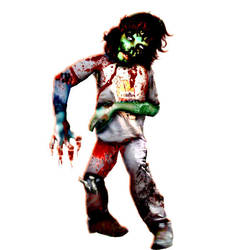 'Jake' Young Zombie by shaggydope