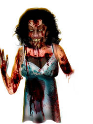Lady Zombie by shaggydope