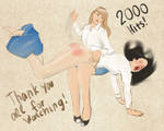 2000 pageviews! Thank you!!! by rumataestorian