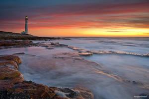 Slangkop Lighthouse by hougaard