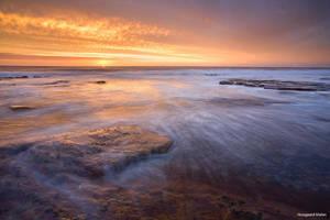 Slangkop Sunset by hougaard
