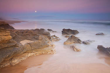 Garden Route Moonrise by hougaard