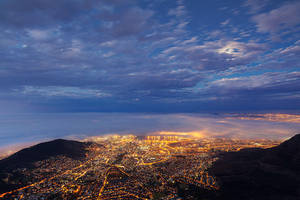 Mother City Nightfall by hougaard