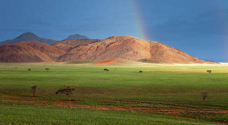 Namibian Storm by hougaard