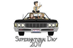 Supernatural Day 2017 by PhantomPhoenix4