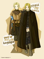 Jaime and Brienne: let the journey begin by SleepingAnto
