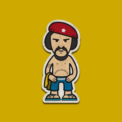 Reds !! Ernesto Che Guevara by 12m3