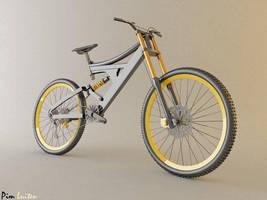 Downhill Mountain bike by PMP01