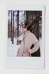 A Deer Man's Morning by DirectorFlik