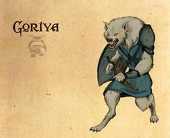 Legend of Zelda: Goriya by Deimos-Remus
