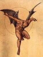 Ghosts n Goblins: Red Arremer by Deimos-Remus