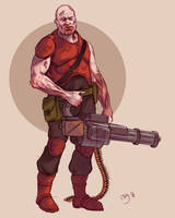 Zombie Commando by Deimos-Remus
