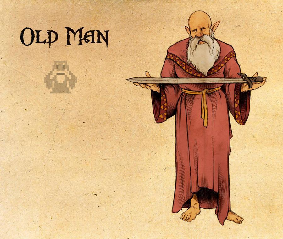 Legend Of Zelda Old Man By Deimos Remus On Deviantart