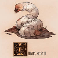 I is for Indus Worm by Deimos-Remus