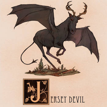 J is for Jersey Devil by Deimos-Remus
