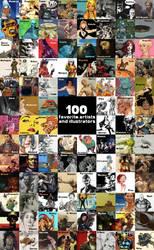 100 Artists by Deimos-Remus