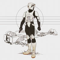 Scout Trooper by Deimos-Remus