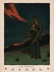 LOZ Redux: Ganon the Sorcerer by Deimos-Remus
