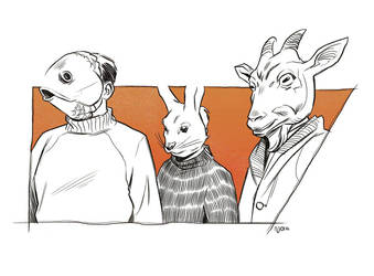 Masked Procession by Deimos-Remus