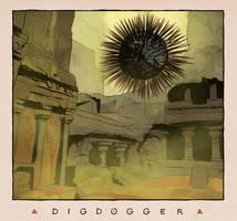 LOZ Redux: Digdogger by Deimos-Remus