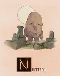 N is for Nuppeppo by Deimos-Remus