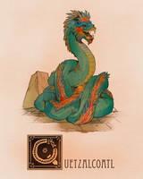 Q is for Quetzalcoatl by Deimos-Remus