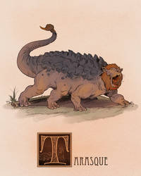 T is for Tarasque by Deimos-Remus