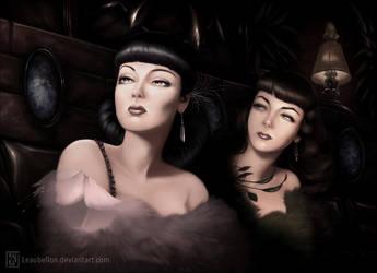 Film noir by Leaubellon