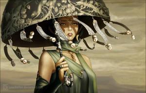 Stranger in the desert by Leaubellon