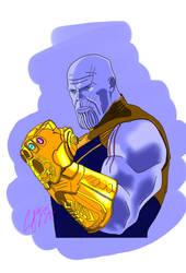 Thanos #FAF by Mistaj27