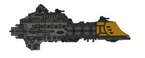 Warhammer 40K Celestial Class Destroyer by Seeras