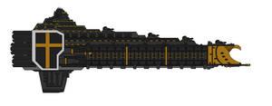 Warhammer 40K Progenitor Class Battleship by Seeras