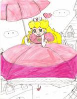 Super Mario RPG - Peach by Aquateen510