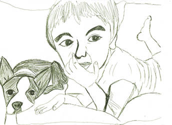 Ethan and Ozzy by Amandalee1114