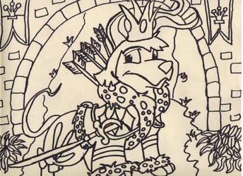 Calrian the Royal Boy Gelert by Amandalee1114