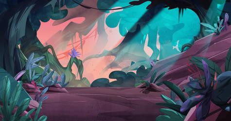 Jungle background by blackbutterfly1983