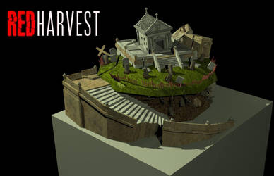 Red Harvest: Zombie Outpost 3rd upgrade by blackbutterfly1983
