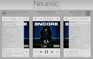 Neuesic - Minimal Music Player by wineass