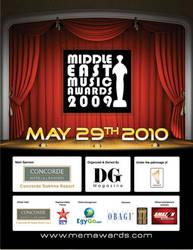 MEMA Awards print by Egygo