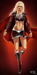 Evil Supergirl by Arkenstellar