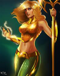 Aquawoman by Arkenstellar