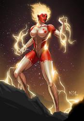 Captain Marvel BInary by Arkenstellar