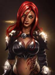 Katarina League of Legends by Arkenstellar