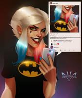 Harley Quinn by Arkenstellar