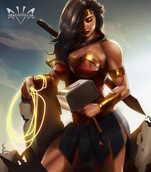Wonder Woman by Arkenstellar