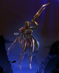 Gamora by Arkenstellar